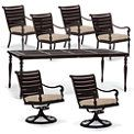 British Colonial 7-pc. Rectangular Dining Set