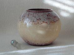 Vase Art Deco ceramic West German flower by TimelessGiftsandMore