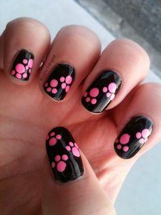 Dog print nails