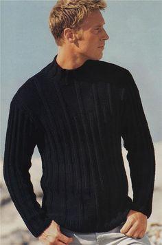 MADE TO ORDER men's Turtleneck Sweater v-neck men crewneck hand knitted sweater cardigan pullover men clothing handmade men knitting cabled Mens Turtleneck, Men Sweater, Sweater Cardigan, Mens Jumpers, Hand Knitted Sweaters, Stylish Men, Knitting, Crochet, Google