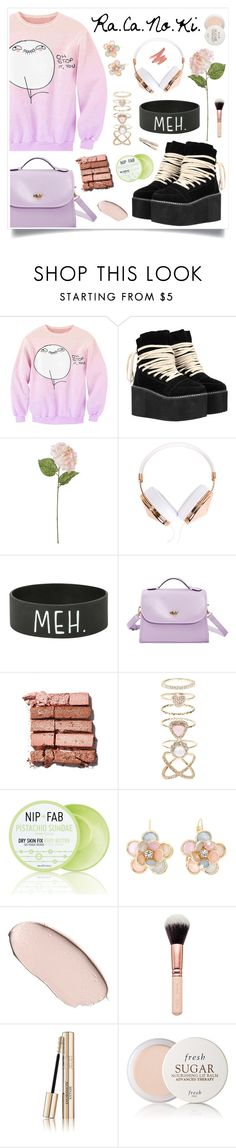 """""""Love Me Val's"""" by racanoki ❤ liked on Polyvore featuring moda, WithChic, Linea, Frends, Bobbi Brown Cosmetics, Accessorize, Nip+Fab, Mixit, Fresh y women's clothing"""