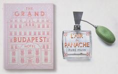 The Grand Budapest hotel graphics via www.mr-cup.com