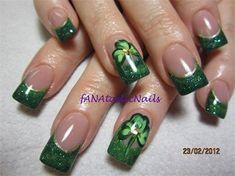 St.Patrick's Day Nail Art Designs & Ideas 2014 | Fabulous Nail Art ...