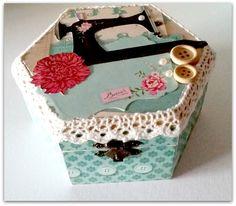 #box #scrapbooking #sew #sewing #sweet
