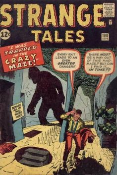 Stranger Tales #100 (Sep 1962)