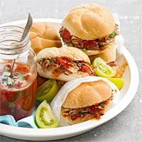 Pulled Pork with Strawberry BBQ Sauce - yum!!