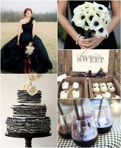 """Trick or Treat"" Halloween Inspired Wedding Ideas and Wedding Invitations -InvitesWeddings.com"