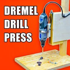 Make a Dremel Drill Press / Dremel Workstation