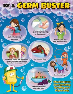 - Be A Germ Buster Chart, Convenient, useful learning tools decorate as they educate! Each chart measures by . Related lessons and activities. Learning Tools, Learning Activities, Hand Washing Poster, Teacher Created Resources, Preschool Lessons, School Decorations, Disaster Preparedness, Kids Education, Health Education