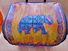 Jackie P Neal: Art Tote Tutorial with StencilGirl Products