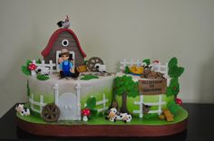 farm cake large