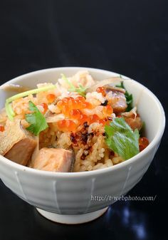 Salmon Rice 鮭ご飯 //Manbo