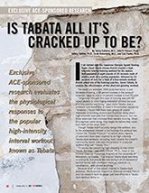 Is Tabata All It's Cracked Up To Be?