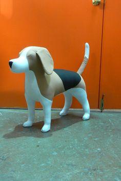 Beagle Dog Mannequin