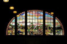 Vitral do Mercado Municipal de São Paulo