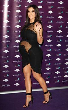 Kim Kardashian - Maternity Style
