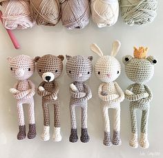 Lulu Compotine - doudous au crochet Diy Crochet Toys, Crochet Bunny, Crochet Gifts, Crochet Dolls, Crochet Animal Patterns, Crochet Patterns Amigurumi, Knitting Projects, Crochet Projects, Crochet Bolero