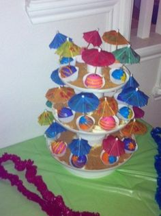 Kayla's luau party By juicyscakes on CakeCentral.com
