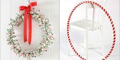 DIY Christmas Lolly Wreath and Hula Hoop - Lifestyle Childrens Christmas, Kids Christmas, Christmas Crafts, Christmas Trees, Australian Christmas, Xmas Wreaths, Pop Design, Hula Hoop, Outdoor Christmas
