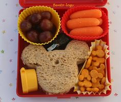 Mickey Mouse sandwich