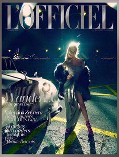 L'Officiel Singapur Noviembre 2014: Valentina Zelyaeva by Chuando & Frey - Estilismo Jack Wang y Jumius Wong.