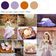 Looking for your wedding color palette? The Perfect Palette wants to help! The Perfect Palette is dedicated to helping you see the many ways you can use color to bring your wedding to life. September Wedding Colors, Fall Wedding Colors, Autumn Wedding, Wedding Color Schemes, Purple Wedding, Our Wedding, Copper Wedding, Wedding Blog, April Wedding