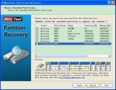 How to perform lost NTFS format partition recovery with MiniTool Partition Recovery. Filing System, Data Recovery, Software, Lost, Tips, Workbox System, Counseling