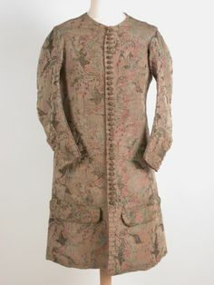 Man's jacket, 1700, Killerton Fashion Collection © National Trust.