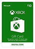 #10: Xbox $10 Gift Card - Digital Code