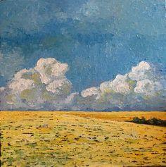 Martina-Krupickova-Miscellaneous-Landscapes-Landscapes-Plains-Modern-Age-Impressionism-Neo- #behindourhouse