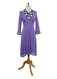 JUS D'ORANGE Robe MAUVE Robe mi-longue FEMME 36 MAUVE