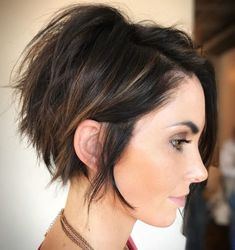70 Cute and Easy-To-Style Short Layered Hairstyles - Long Choppy Messy Pixie - Pixie Bob Haircut, Pixie Haircut For Thick Hair, Short Layered Haircuts, Pixie Haircuts, Pixie Haircut Layered, Short Pixie Bob, Short Hair With Layers, Short Hair Cuts, Messy Pixie Cuts