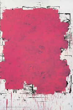 """Christopher Wool  """"I Can't Stand Myself When You Touch Me """" 1994  Enamel on aluminum  108 X 72 inches  (274.3 X 182.9cm)"""