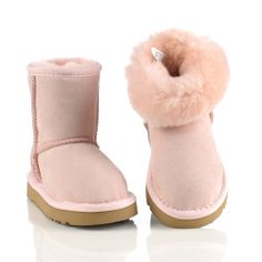 UGG Black Friday 5281 Kids Classic Short Winter Boots Pink | Ugg Boots Cyber Monday Deals 2013