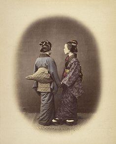 Felice Beato   British, Japan, 1868   Hand-colored albumen silver print