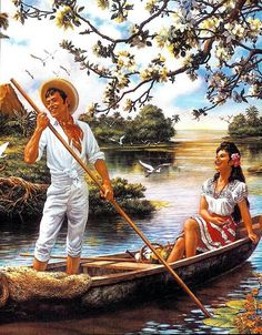 Pintura de Jesús Helguera