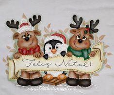 A imagem pode conter: comida Christmas Canvas, Christmas Quotes, Christmas Pictures, Christmas Art, Christmas Holidays, Christmas Ornaments, Christmas Drawing, Christmas Paintings, Cute Christmas Wallpaper