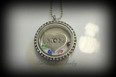 Hand Stamped Jewelry Personalized Memory Locket Necklace- Family locket - Hand Stamped Stainless Steel