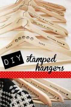 Project: Stamped Hangers