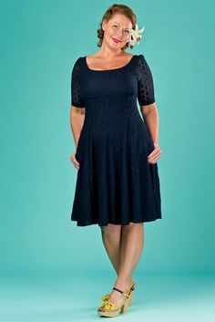 emmydesign - the drop dead gorgeous dress. navy lace
