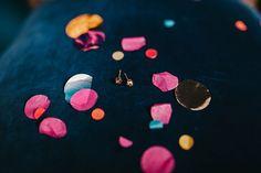Rainbow Wedding Shoot - Earrings