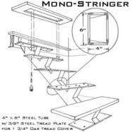 Resultado de imagem para staircase single stringer