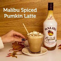 Malibu Spice Pumpkin Latte