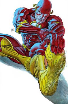 Publisher: DC Comics Variant Name: Cover B Variant Guillem March Cover Print Run/Ratio: Unknown Cover Artist(s): Guillem March Character(s): Flash Date of Relea Dc Comics Superheroes, Arte Dc Comics, Dc Comics Characters, Marvel Comics, Marvel Dc, Comic Books Art, Comic Art, Flash Tv Series, Illustrator