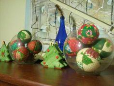 Minhas bolas de patchwork embutido - carton mousse