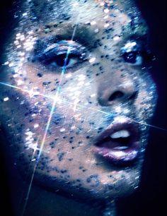 HUNTER GATTI COSMOS2 Sabrina Nait is an Intergalactic Beauty for Hunter & Gatti in HGIssue