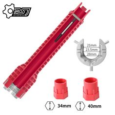 CHIAVE DI INSTALLAZIONE MULTIFUNZIONALE👇MYALLESHOP Pipe Wrench, Wrench Tool, Plumbing Installation, Adjustable Wrench, Toilet Bowl, Tool Steel, Water Pipes, Good Grips, Multifunctional