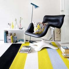 Avenue carpet by Woodnotes and Karuselli chair by Artek.