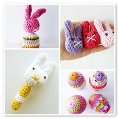 Crochet Easter Patterns (get one for free)
