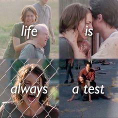 The Walking Dead. Maggie has has to deal with some crazy things throughout the three seasons of the walking dead, and she just keeps getting stronger. Walking Dead Quotes, Walking Dead Show, Fear The Walking Dead, Best Tv Shows, Best Shows Ever, Favorite Tv Shows, Walking Dead Zombies, Glenn Y Maggie, Maggie Greene
